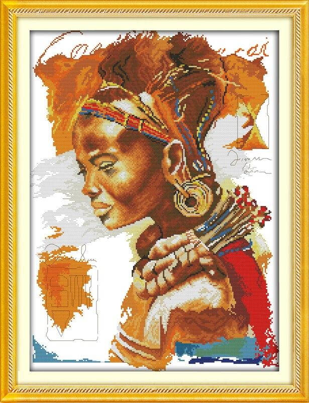 Африканское женское хлопковое мозаичное изделие DMC ...