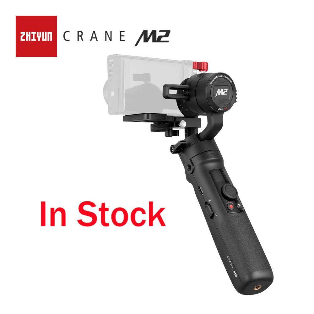 ZHIYUN Official Crane M2 3 Axis Gimbals for Action Mirrorless Compact Cameras Smartphones New Arrival Stabilizer