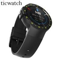 Оригинальный Ticwatch S Smartwatch + Сталь защитная пленка Bluetooth 4,1 MTK2601 Android Wear 2,0 для iOS/Android IP67 Водонепроницаемый