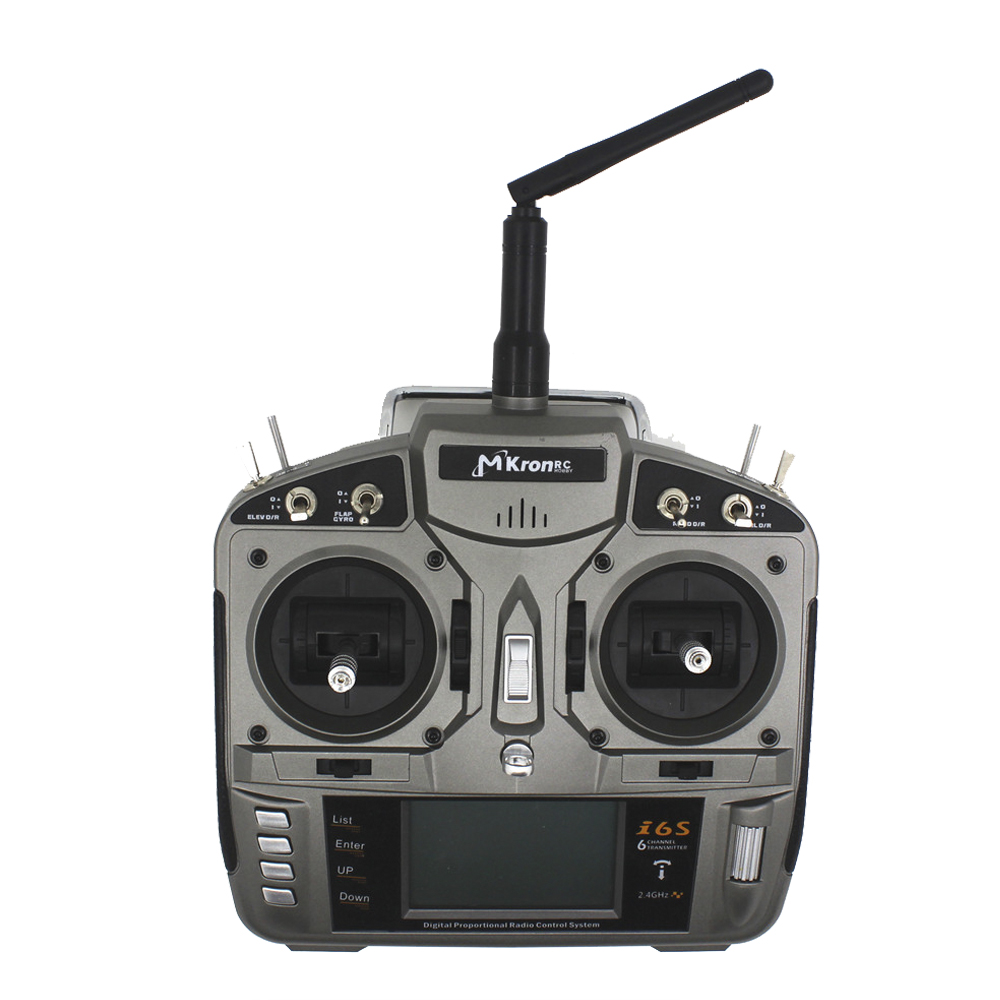 2.4G 6CH radio control RC i6s Radio Transmitter RC gray plastic + S603 6CH  receiver for RC RADIO CONTROL better than DX6