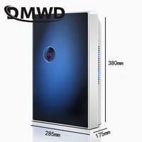 DMWD Portable Electric Dehumidifier household mute air dryer cleaner Moisture Absorbing Intelligent Auto off LED air purifier