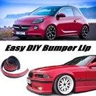 Bumper Lip Deflector Lips For Opel Adam / Vauxhall Adam 2012~2015 Front Spoiler Skirt For tune / Body Kit Strip