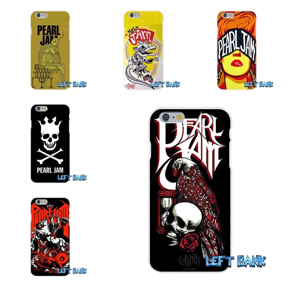 Alternative Pop Rock Pearl Jam PJ Slim Silicone Phone Case For Motorola Moto G LG Spirit G2 G3 Mini G4 G5 K4 K7 K8 K10 V10 V20 ...