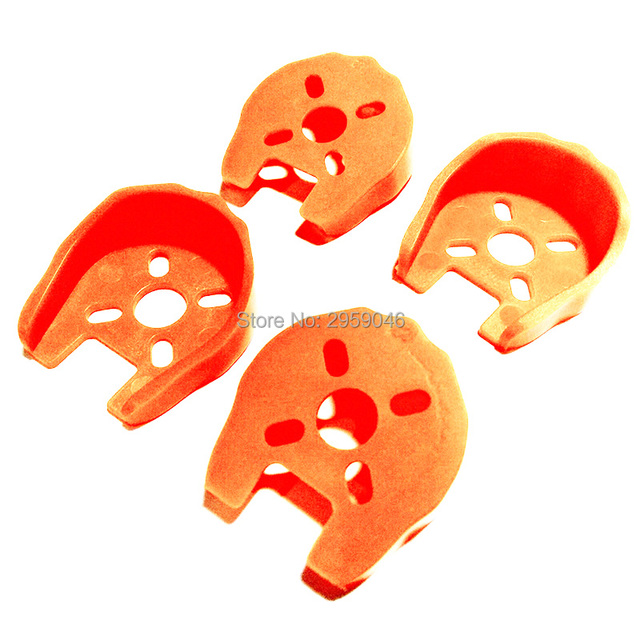 ZMR 4pcs Universal Motor Cover Protection Mount for FPV QAV250 ZMR250 Multicopter Quadcopter 22 Series EMAX RS2205 DIY with nail
