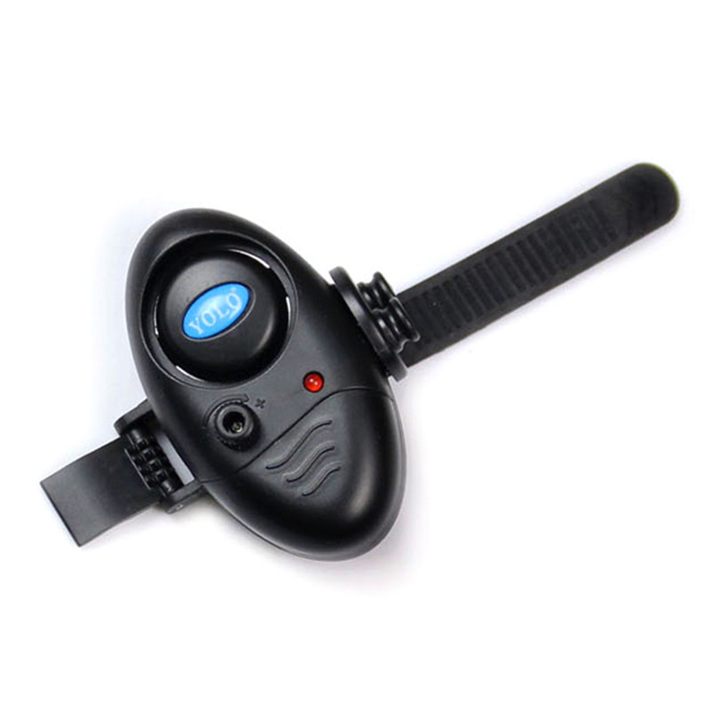 Image 2 - Fishing Electronic LED Light Fish Bite Sound Alarm Bell Clip On Fishing Rod Black Tackle TX005-in Fishing Tackle Boxes from Sports & Entertainment