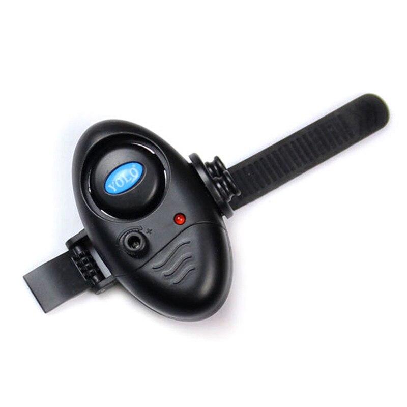 Image 2 - 釣り電子 Led ライト魚サウンドアラーム咬傷釣りロッド黒 TX005 タックル -    グループ上の スポーツ