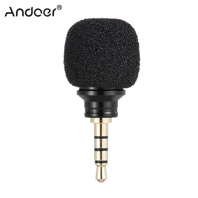 Andoer Cellphone Smartphone Portable Mini Omni Directional