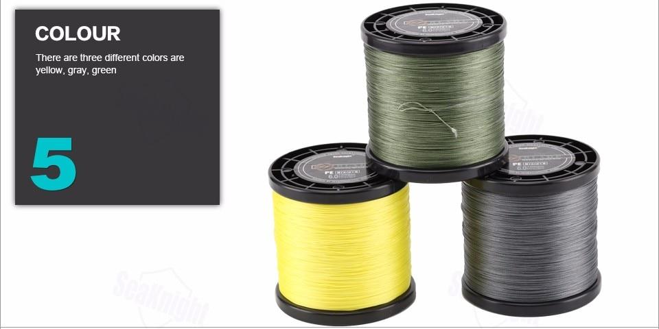 8 Vertentes Verde Linha 20-100LB 0.175- 0.480mm
