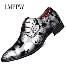 Fashion Pointed Toe Men Dress Shoes Business Wedding Casual Shoes Soft Patent Leather Men Flat Shoes Oxfords Zapatos Hombre hot men leather shoes pointed toe men dress shoes fashion patent leather wedding party flat shoes italian men formal oxfords 2a