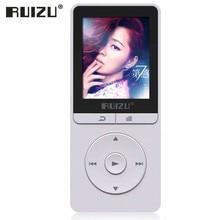 Original RUIZU X20 Portátil de Alta Fidelidad de Audio Digital 8G Mp3 Música Louderspeaker reproductor Con Pantalla LCD FM Radio Grabadora de Voz E libro