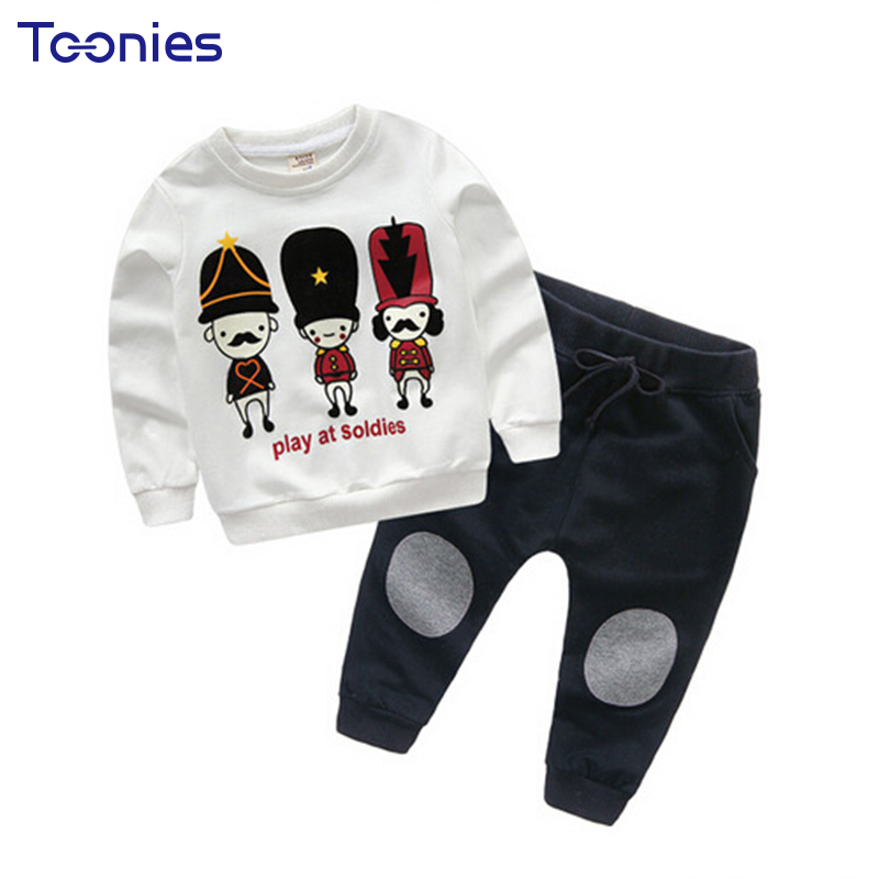 New Arrivals Children Sportswear Casual Boys Girls Clothing Sets Long Sleeves Top+Pant Suits Cute Cartoon Print Active Kids Suit дрель аккумуляторная фиолент дша110рэ312 в шуруповерт