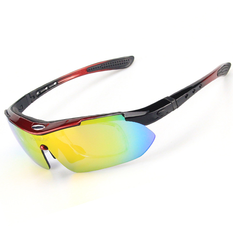 Most Popular Polarized Cycling SunGlasses 5 Lens UV400 Mountain Bike Goggles Cycling Eyewear Outdoor Riding Protection Goggles (5)