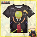 Japanese Anime Assassination Classroom Koro Sensei T-shirt Polyester T Shirt Summer Active Otaku Men Women Clothing