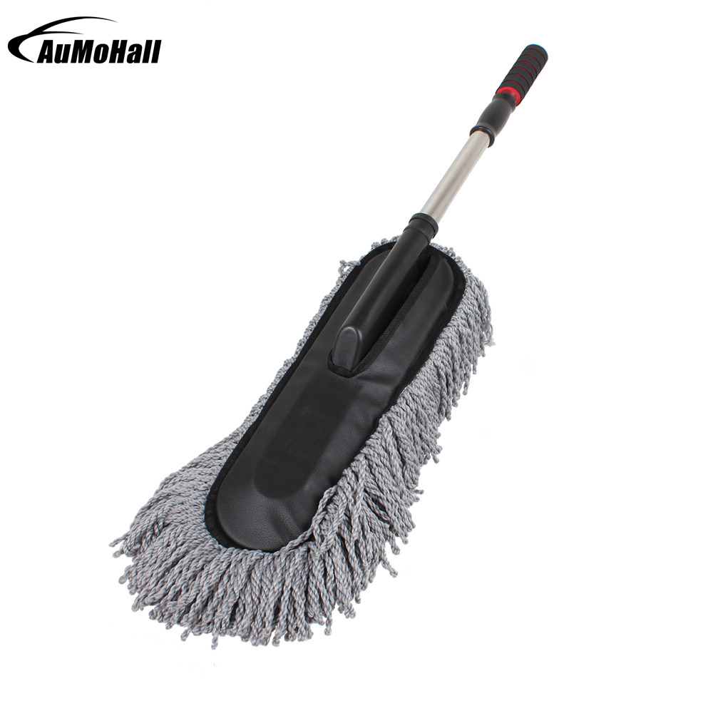 Large Microfiber Telescoping Car Wash Body Duster Brush Dirt Dust Mop Cleaning Tool Dusting Mops Dusters