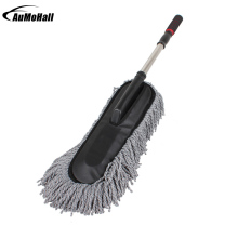 Large Microfiber Telescoping Car Wash Body Duster Brush Dirt  Dust Mop Cleaning Tool Dusting Mops Dusters refill dusters cloth white