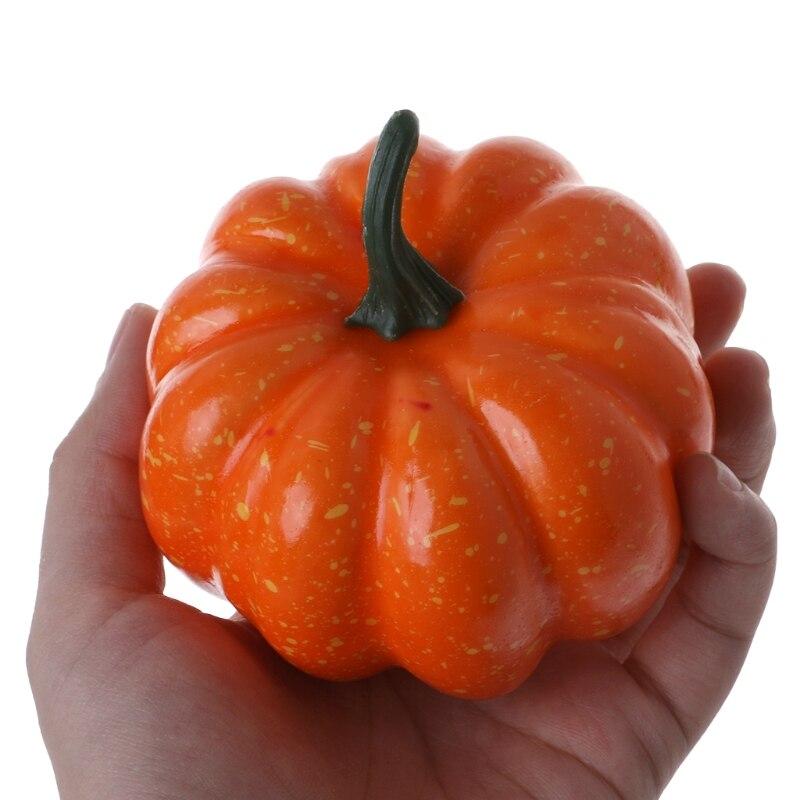 Realistyczne sztuczna dynia na Halloween sztuczne owoce warzyw dekoracje domowe na przyjęcie