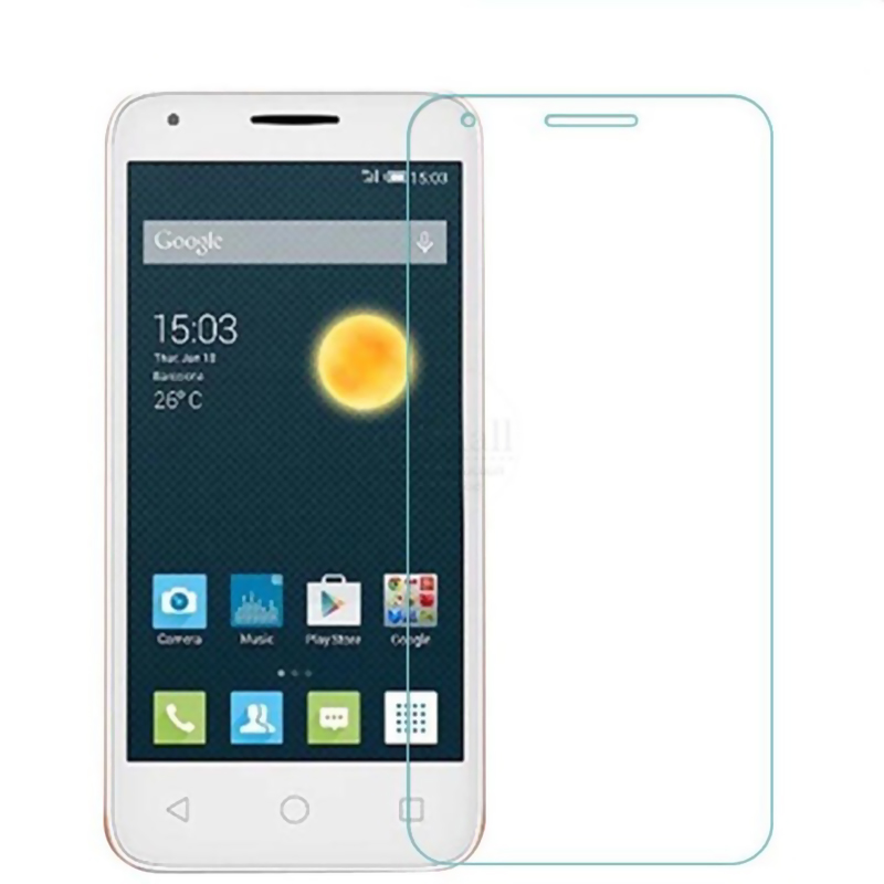 Galleria fotografica 5PCS For Alcatel pixi 3 Tempered Glass Alcatel one touch pixi 3 Glass 9H Premium Screen Protector onetouch pixi3 4.0 4.5 Flim