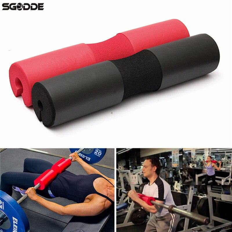 Hohe Qualität Squat Schwamm Barbell Hals Schulter Zurück Schützen Pad GYM Gewichtheben Crossfit Hochziehen Grip Unterstützung Gewichtheben