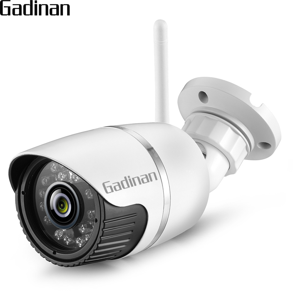 GADINAN H.265 3MP IP Wifi Camera Wireless Wired P2P 2MP CCTV Bullet Outdoor Camera With SD Card Slot Max 128G iCSee ahwvse yoosee full hd 1080p wifi ip camera onvif p2p email alert wireless wired cctv outdoor camera sd card slot max 64g
