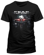 Summer New Print Cotton Fashion Men'S Fear Factory Nunca Take O-Neck Short Sleeve Broadcloth T Shirt