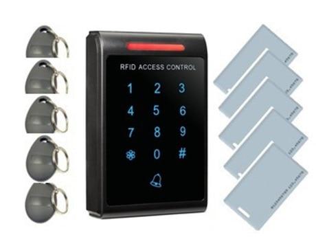 Сенсорная кнопочная панель контроля доступа и считыватель карт EM+ 10 пользовательских карт