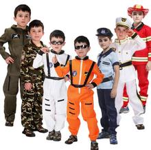 hot halloween costume sam fireman carnival costume kids cosplay profession costume children police uniform space