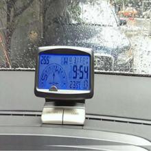 Многофункциональный автомобильный компас 10*8*6 см с ЖК дисплеем