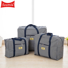 Large luggage bag Ladies Travel Bags Women Hand Folding Oxford Big Bag Traveling Suitcases Organizer Clothes Quilt Packing Cubes