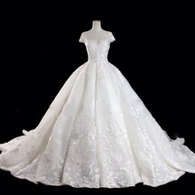 saf sid Ball Gown Wedding Dress With Sleeves