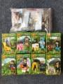 8 компл./лот Minecraft Стиль 33009 Строительный Блок Стив Зомби Pigman Алекс Enderman Скелет Оружие Игрушки Совместимость С Lego