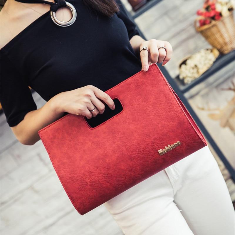 2016 Women s Fashion Messenger Bag Women Handbag bolsa mujer sac a main Vintage Day Clutch