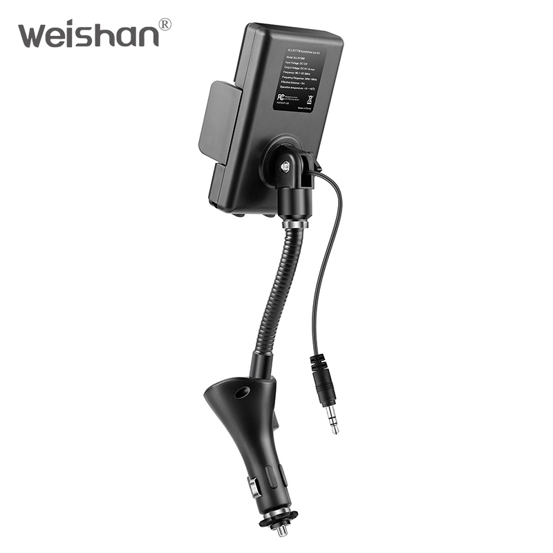 weishan Wireless FM Transmitter Radio Car Kit համար Smart - Ավտոմեքենաների էլեկտրոնիկա - Լուսանկար 5
