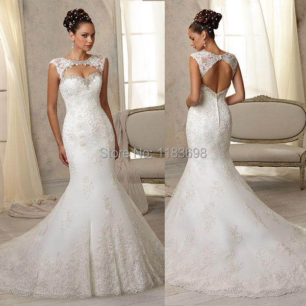 Hot Ing Fit And Flare Embroidered Liques Diamond Beading Y Little Mermaid Wedding Dress Detachable Keyhole Bolero In Dresses From Weddings
