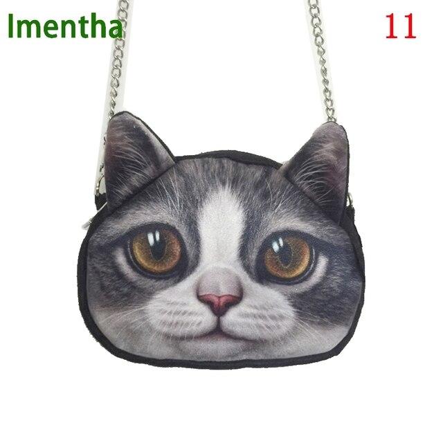 Animal Printing Women Shoulder Bags Cute Cat Crossbody For Purses And Handbags Small