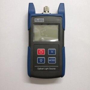 Image 2 - 무료 배송 TL512 핸드 헬드 멀티 모드 광섬유 광원 850 1300nm MM