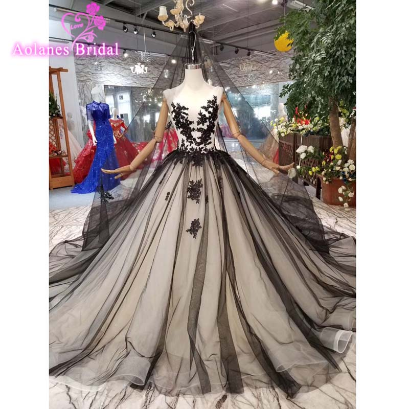 Prom Dresses Long 2019 New Black Lace V-neck Sexy Backless Ball Gown Appliques Mix Colors Long Party Gowns For Wedding Guest