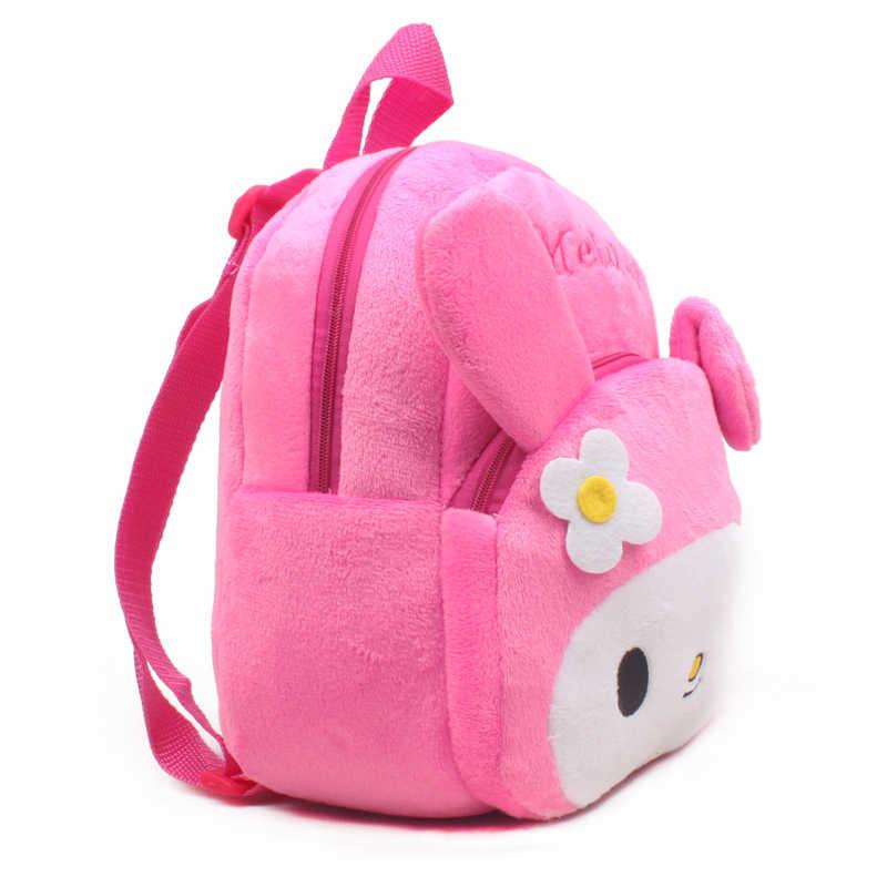 Популярные новые с мультипликационным принтом «кролик» Детский плюшевый рюкзак игрушка мини школьные сумки для детей Подарки Детский сад унисекс, детский, для маленьких студенческие сумки
