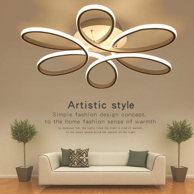 Led Plafond Lumi¨re Pétale Forme LED Plafond lampe Moderne Lampe