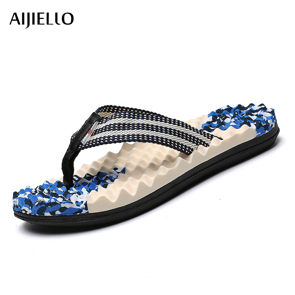 Summer Mens Sport Flip Flops Beach Sandals For Men Flat Slippers Non-Slip Outside Shales Shoes Sandals Pantufa SX5