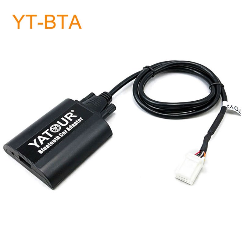 Yatour BTA Car Bluetooth Adapter Kit for Factory Radio for Lexus ES300 ES330 IS220 IS250 IS300 IS350 GS300 GS400 GS430 GS450H 1pcs canbus error free t15 car led backup reverse lights lamps for lexus ct es gs gx is is f ls lx sc rx is250 rx300 is350 is300