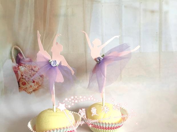 Ballet Cake Decorations