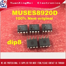 Free freight 1pcs 5pcs 100% NEW GENUINE ORIGINAL MUSES 8920 MUSES8920 MUSES8920D audio FET input op amp