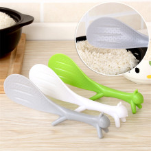 1 шт креативное милое Пластик белка риса ложки, кухонные принадлежности для Кухня кухни инструменты Кухня гаджеты разные цвета