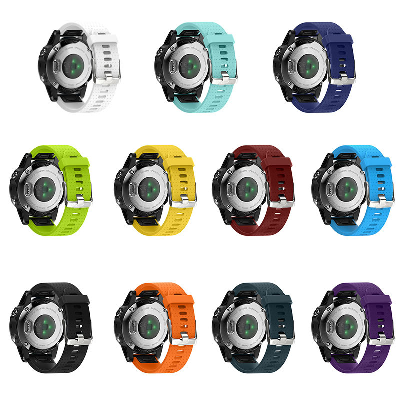 20mm 22mm 26mm Soft Silicone Sports Watchbands Fashion Colorful Bracelet Strap Band Replacement Watch Strap Classic Wrist Band 6 colors silicone watch strap 22mm band strap replacement watchbands adjustable watchbands for garmin fenix chronos watch band