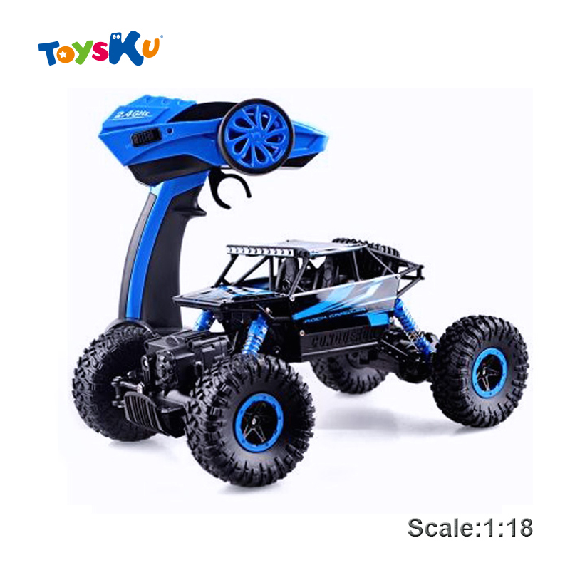 RC Car 4WD 2.4GHz Rock Crawlers Rally climbing Car 4×4 Double Motors Bigfoot Car Remote Control Model Off-Road Vehicle Toy