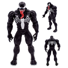 купить Hot Sell Anime Figma Spider Man Venom Model 18cm PVC Action Figure Collectible Model Toy Gift Free Shipping по цене 1608.09 рублей