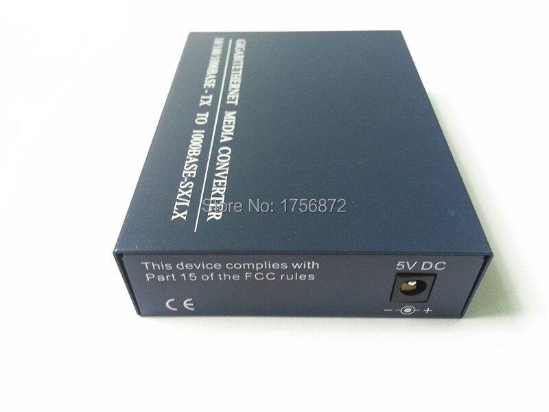 Convertidor de medios de fibra SFP 10/100 / 1000M, fuente de - Equipos de comunicación - foto 3
