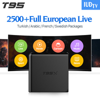 European IPTV Box Android TV Box Sky IPTV Receiver 1300 Sky French Turkish Netherlands Channels Better