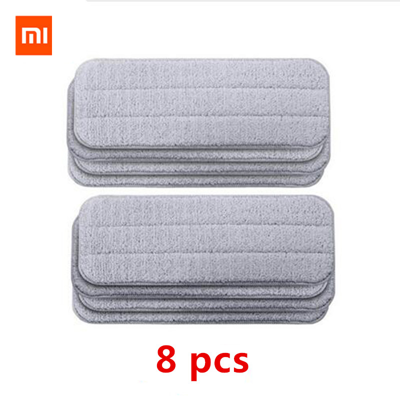 Xiaomi Mijia Deerma Replace Mop Cloth Rags for Mi Mijia Water Spray Mop 360 Rotating Cleaning Cloth Head Wooden Carbon Fibe Xiaomi Mijia Deerma Replace Mop Cloth Rags for Mi Mijia Water Spray Mop 360 Rotating Cleaning Cloth Head Wooden Carbon Fibe