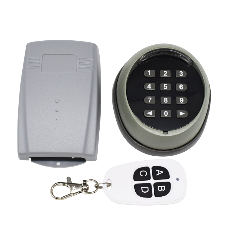 433.92MHZ Access Control Password Multi Function Wireless Keypad Garage Door Opener Gate Opener Transmitter 433MHz Receiver